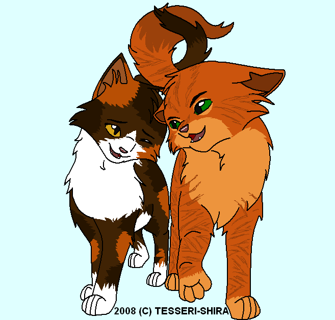 warrior cats coloring pages spottedleaf - photo#20