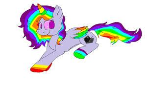 A new pony OC by xXTwistedRainbows