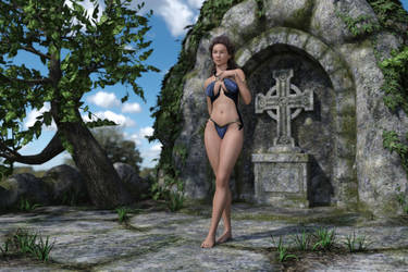 At the Grotto 001