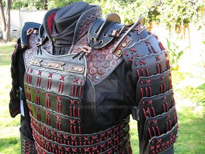 Samurai armor. RanchoStyle. by kkolobok