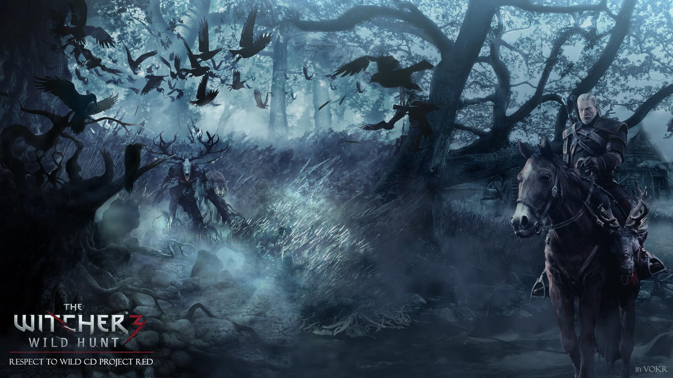 The Witcher 3 Wild Hunt Wallpaper By Vokr On Deviantart