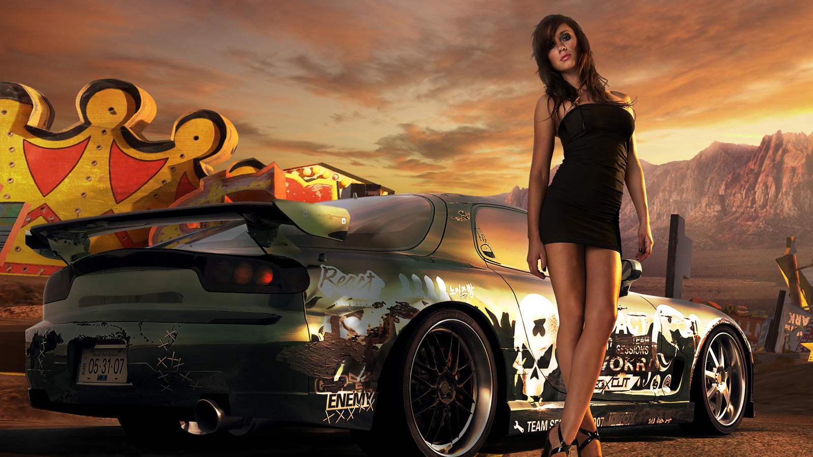 Nfs Prostreet Continue - Totaled! (ProStreet inspired livery