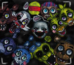 FNAF 2- Too late, they're already here +SPEEDPAINT