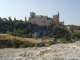 Castle of Segovia by DerKnob