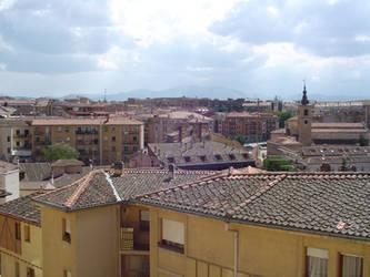 Roofs of Segovia by DerKnob