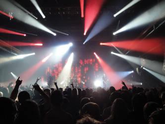 In Flames Concert - Shot 3 by DerKnob