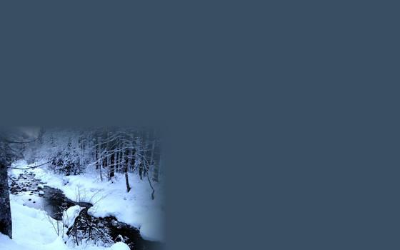 White Snow Landscape by DerKnob