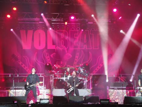 Volbeat - WFF 2011 - Shot 1