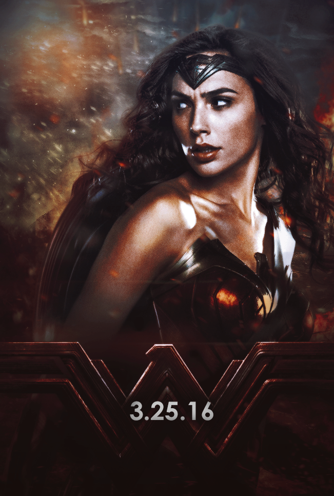 Wonder Woman Poster By GSoriedem