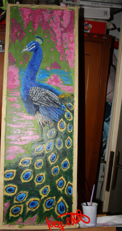 Peacock by CleopatraDiNekomata