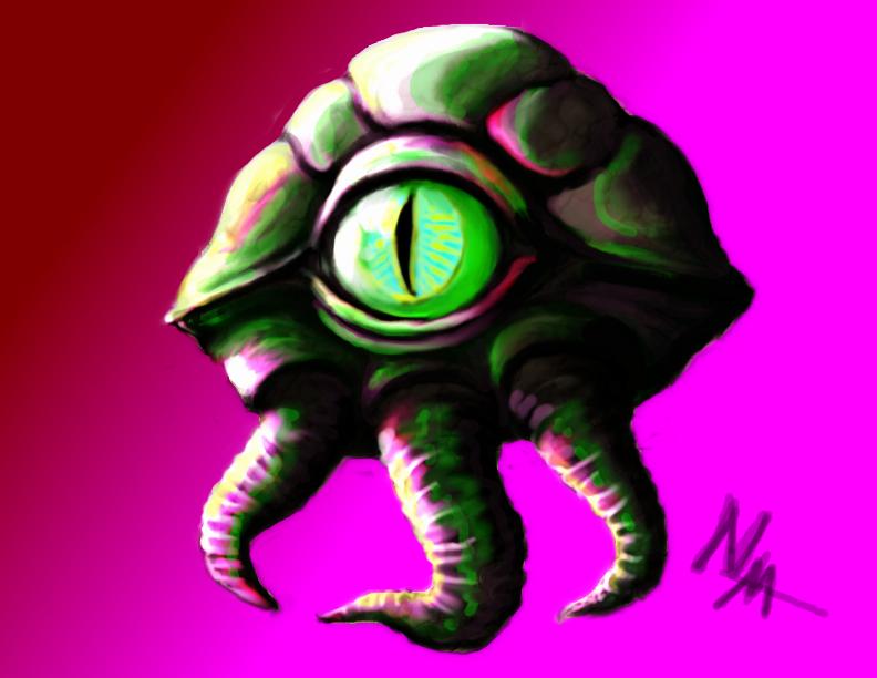 Alien Concept by NamezMud