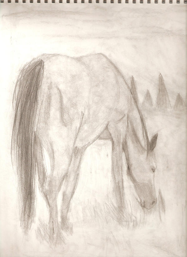 My Art!! -Still adding- Rear_View_Horse_by_Horse_Lover95