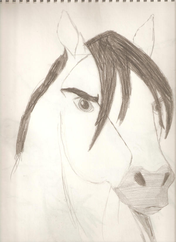 My Art!! -Still adding- Spirit_by_Horse_Lover95