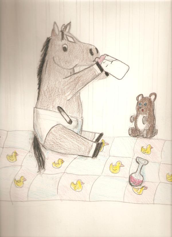 My Art!! -Still adding- Baby_Horse_by_Horse_Lover95