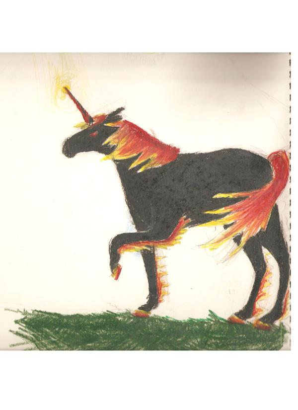 My Art!! -Still adding- Fire_Unicorn_by_Horse_Lover95