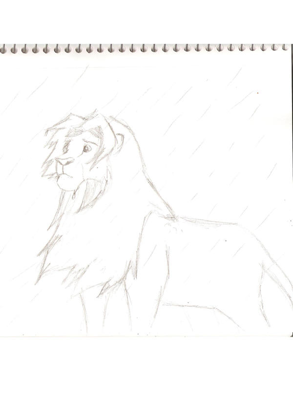 My Art!! -Still adding- Standing_in_the_Rain_by_Horse_Lover95