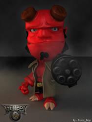HellBoy Chibi by ToxicBoy-3D