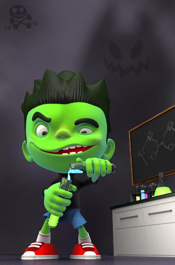 Toxic Boy by ToxicBoy-3D
