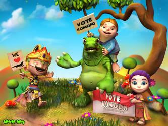 Vote Komodo by ToxicBoy-3D