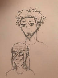 AOT OC's: Arlow Colton and Linus