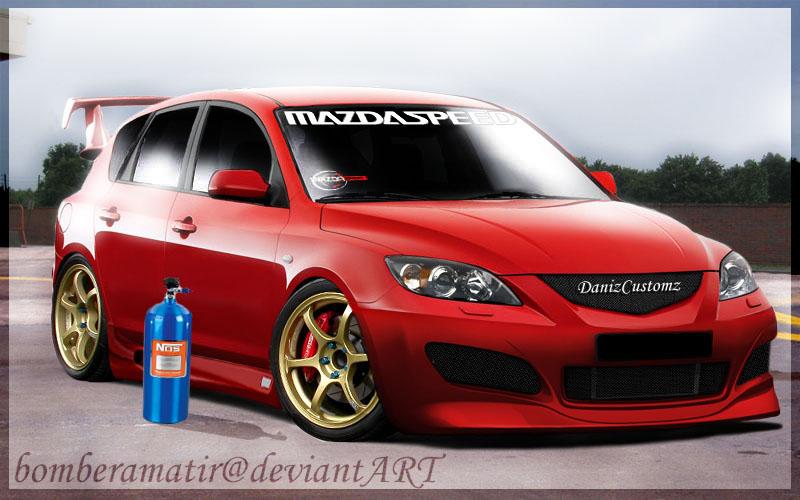 Mazda 3 Custom By Bomberamatir On Deviantart