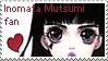stamp: Inomata Mutsumi by Ammoona