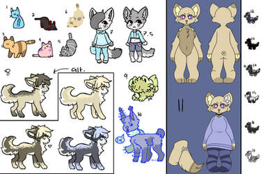 Unsold Adopts 2! [OPEN] [OTA] [ALL PRICES LOWERED] by TBPKarma