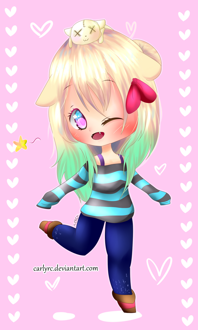 Chibi Commission for Chhipakalee (2) by CarlyRC