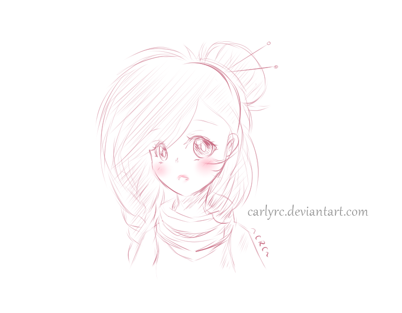 Doodle Ruby-Chan! by CarlyRC