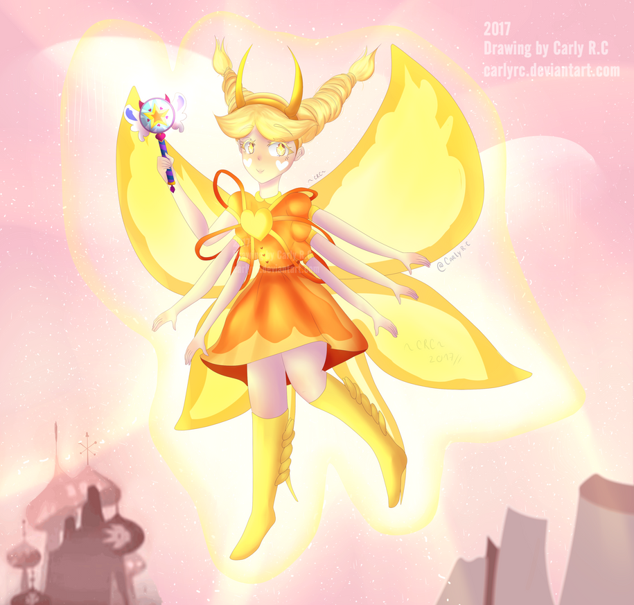 She is a shining STAR - SVSFOE fanart + Speedpaint by CarlyRC