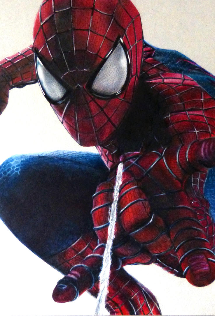 how to draw the amazing spider man spider