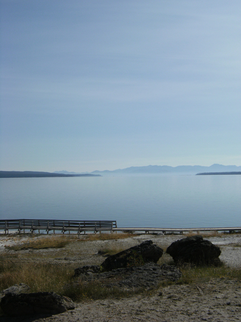 Serene Yellowstone Lake View by rioka