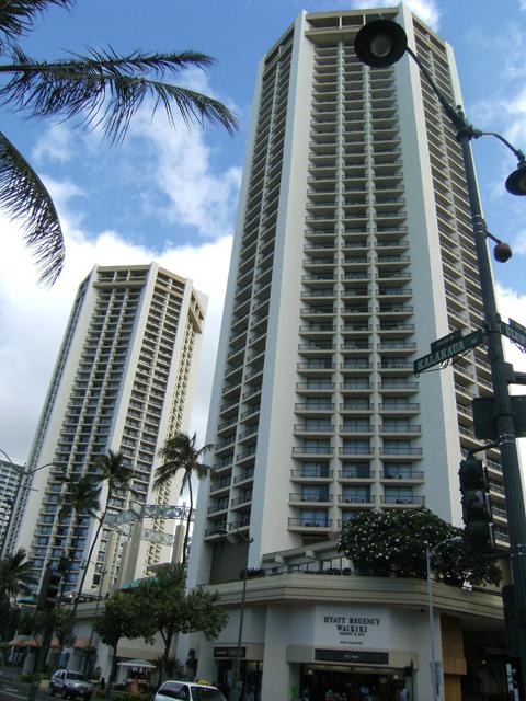 Hyatt Regency Hotel Waikiki by rioka