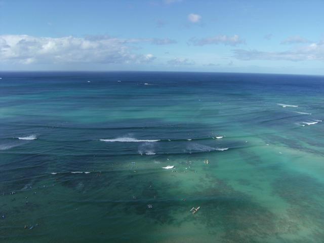 The Blue Waters of Waikiki by rioka