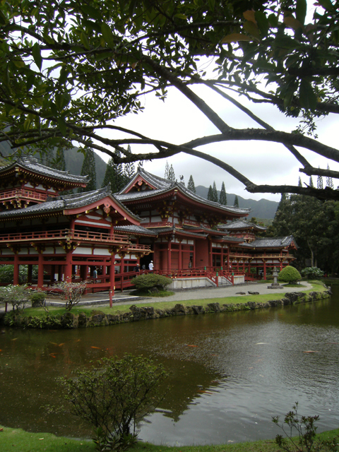 Framed Byodo-In Temple by rioka