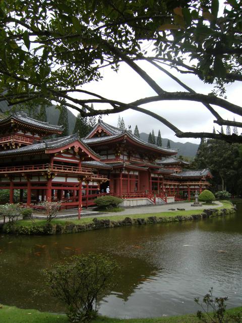 Framed Byodo-In Temple by rioka