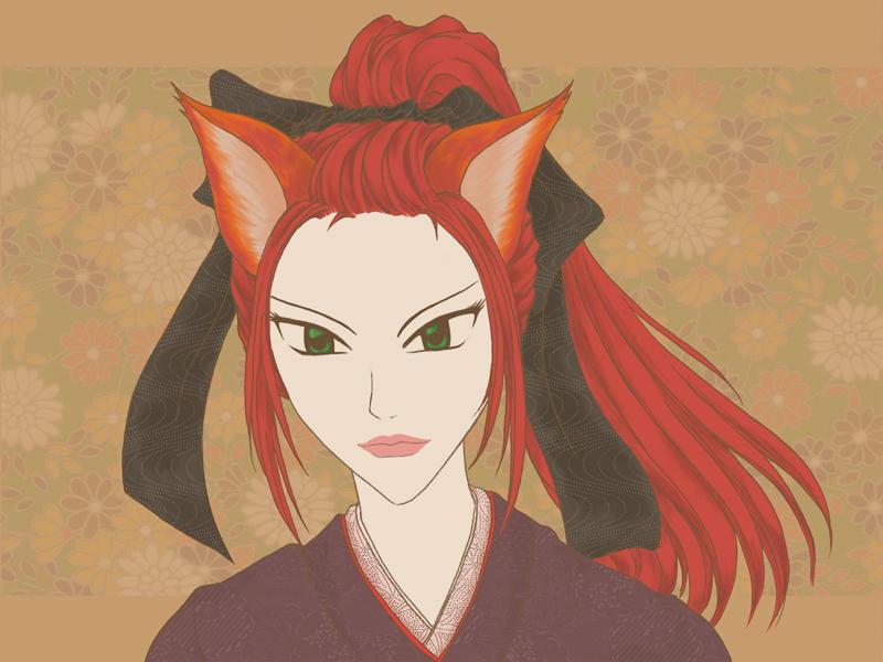 Foxtaile's Ojinko by rioka