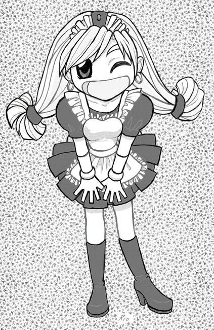 Maid May by rioka