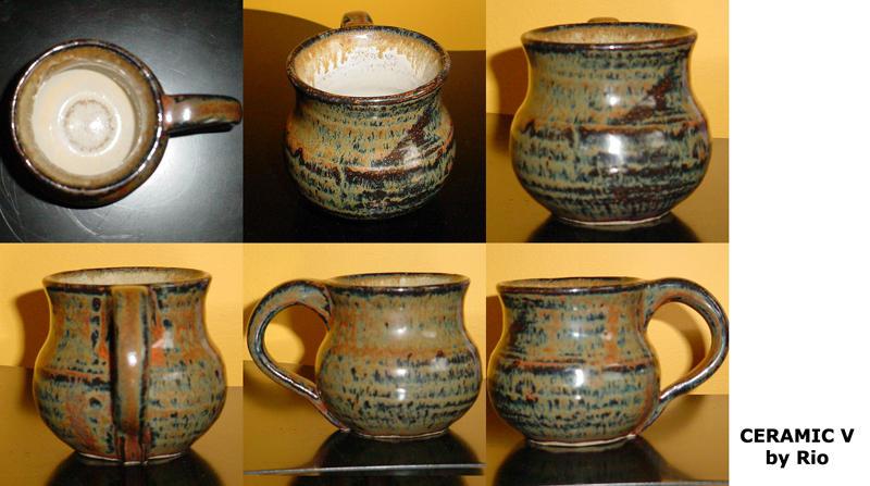 Metallic Ceramic by rioka