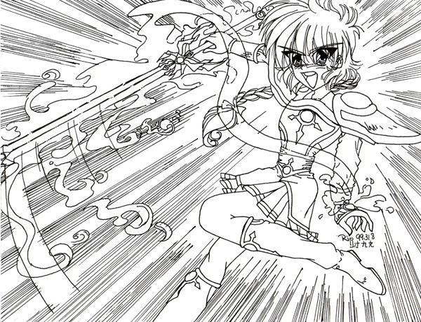 Retro Art: Hikaru Shido by rioka