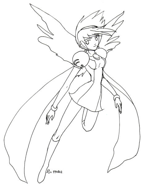 Retro Art: Princess Nina by rioka