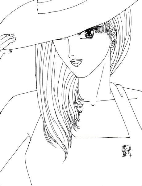Retro Art: Miss R by rioka
