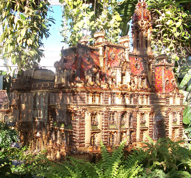 Miniature Vanderbilt Mansion by rioka