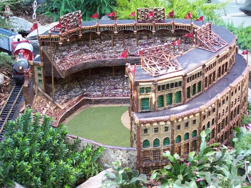 Miniature Yankee Stadium by rioka