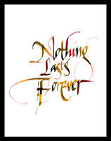 nothing lasts forever by umesh81