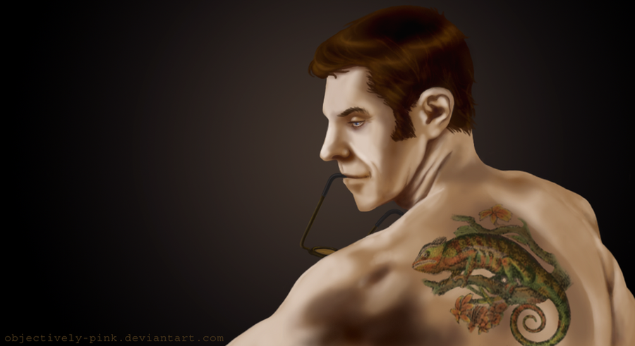 TF2: Chameleon Tattoo by ~objectively-pink on deviantART