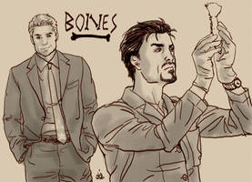 Avengers: Bones by objectively-pink