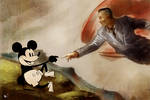 The Creation of Mickey Mouse by kclub