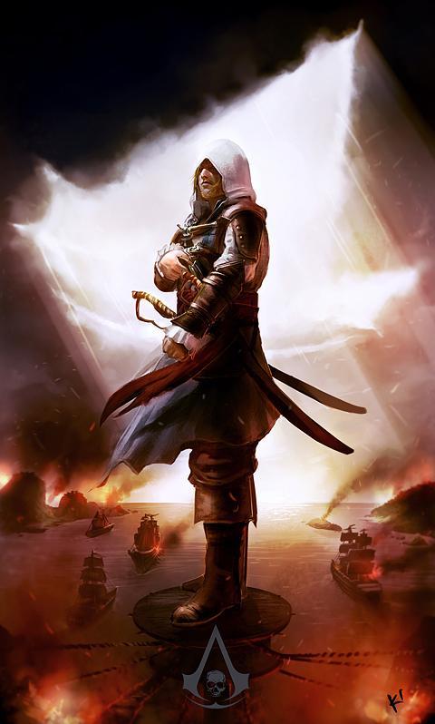 Assassin's Creed IV Black Flag by kclub