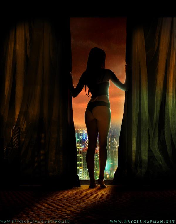 Sunset Overlook by TearDropps